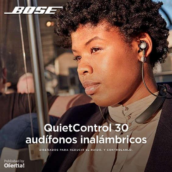 Ofertas de Bose, Bose_Audifonos QuietControl 30