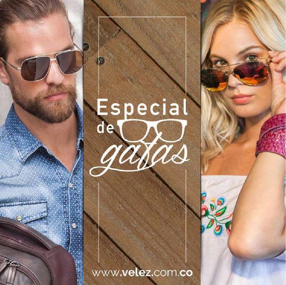 Ofertas de Vélez, Especial de gafas
