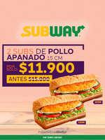 Ofertas de Subway, Pollo Apanado