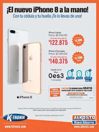 ¡El nuevo iPhone 8 a la mano!