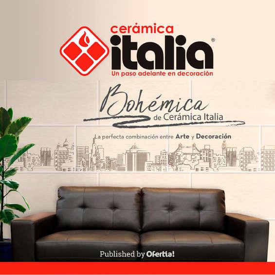 Ofertas de Cerámica Italia, Bohémica