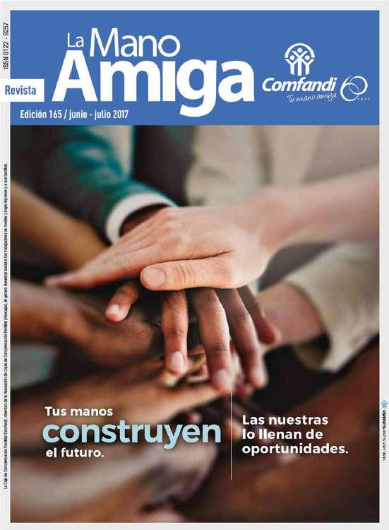 Ofertas de Droguería Comfandi, Revista La Mano Amiga - Ed. 165