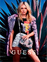 Catálogo Guess Fall 2017