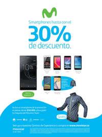 Smartphones hasta con el 30% de descuento