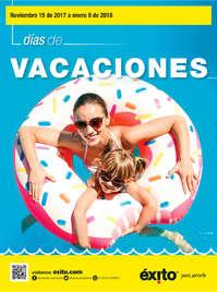 Días de Vacaciones