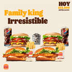 Ofertas de Burger King, Family King