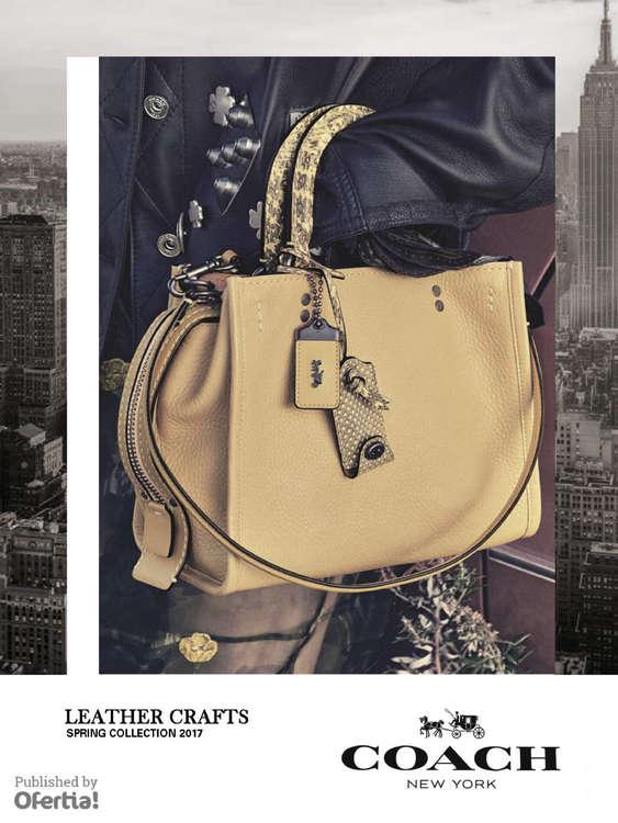 Ofertas de Coach, Leather Crafts