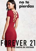 Ofertas de Forever 21, No te pierdas lo nuevo en vestidos