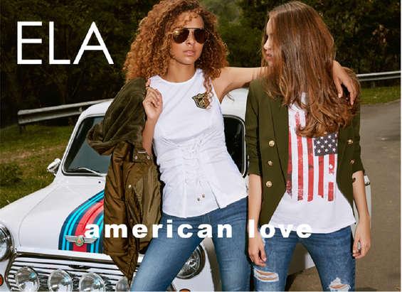 Ofertas de Ela, Lookbook American Love