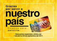 Catálogo Tarjeta Colombia