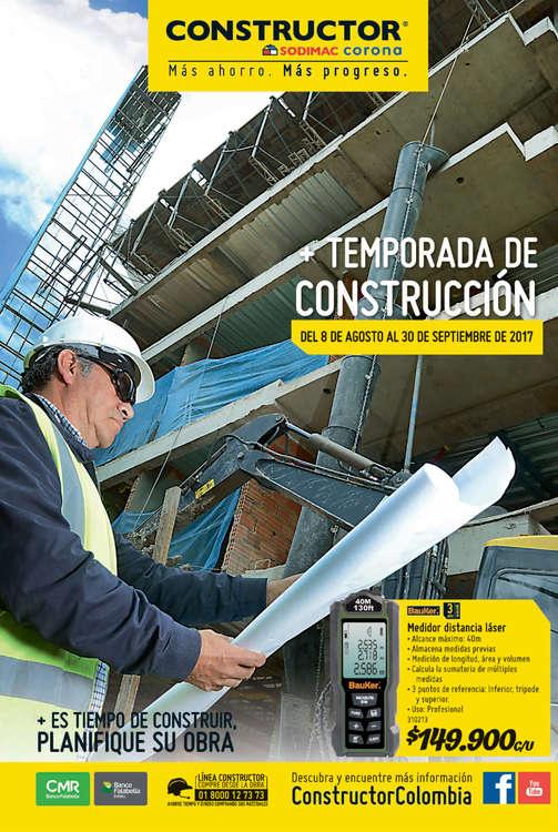 Ofertas de Constructor, Temporada de Construcción - Bogotá