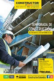 Temporada de Construcción - Bogotá