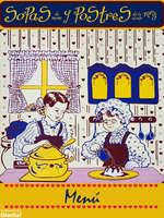 Ofertas de Sopas de Mamá y Postres de la Abuela, Menú