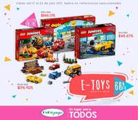 E-toys en descuento - Hasta 60%dto