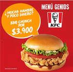 Ofertas de KFC, KFC Burger