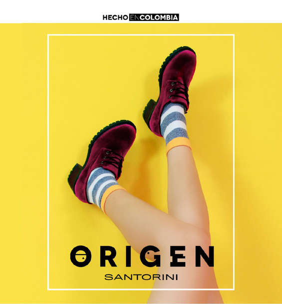 Ofertas de Santorini, Catálogo Colección Origen