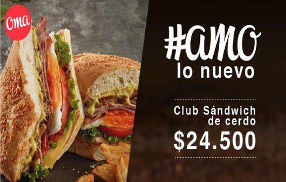 Ofertas de Oma, Sandwich Oma
