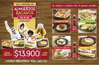 Almuerzos Bacanos