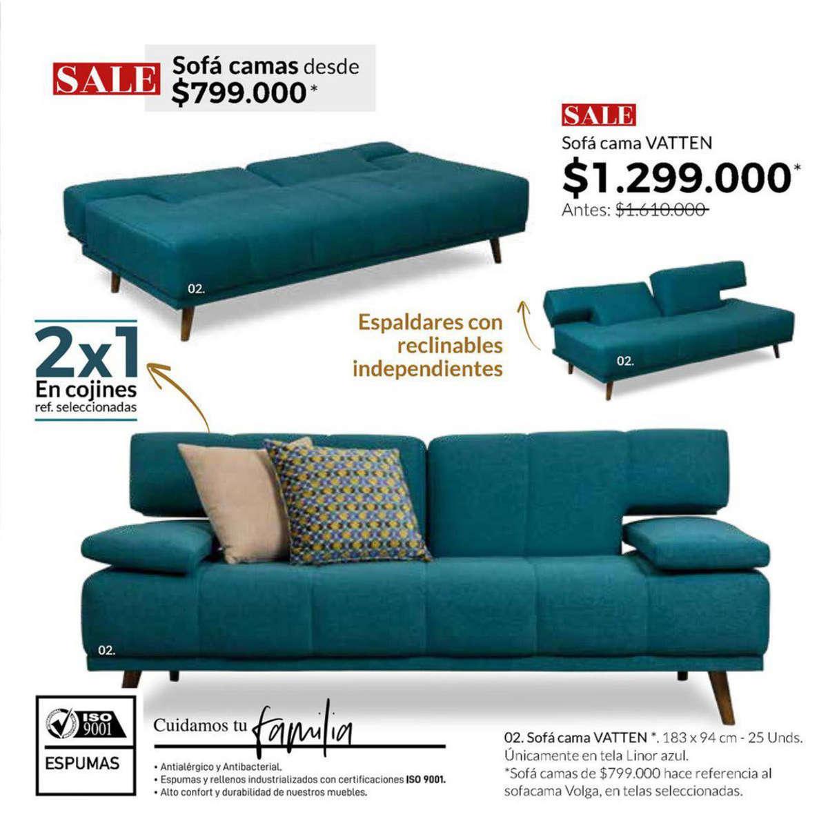 380820e8ac2 Comprar Sofá 2 plazas en Bogotá - Tiendas y promociones - Ofertia