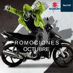 Ofertas de Suzuki Motos, Promociones Octubre