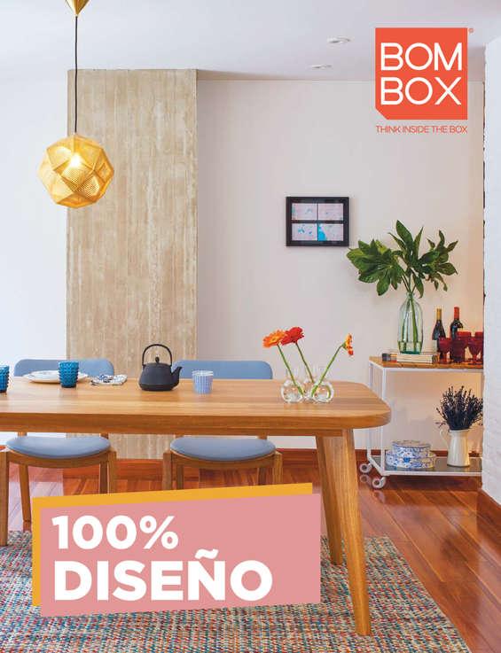 Ofertas de Bombox, Catálogo 100% Diseño 2017