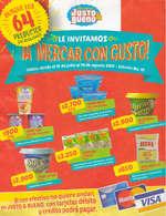 Ofertas de Mercadería Justo & Bueno, Le invitamos ¡a mercar con gusto!