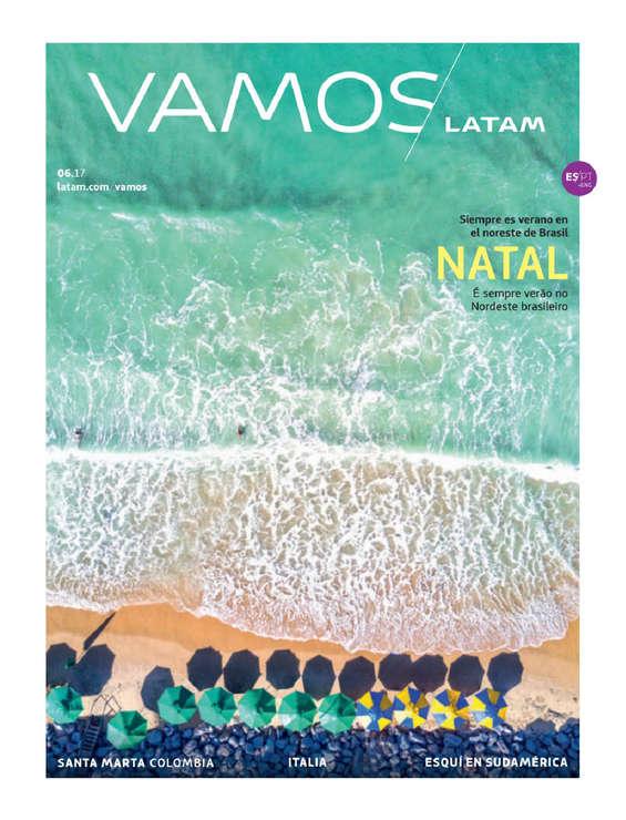Ofertas de LAN, Revista Vamos - Junio 2017