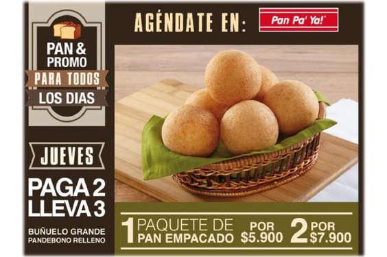 Ofertas de Pan Pa' Ya, Pan & Pomo Para Todos Los Días