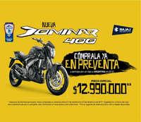Nueva Dominer 400 - Cómprala ya en preventa