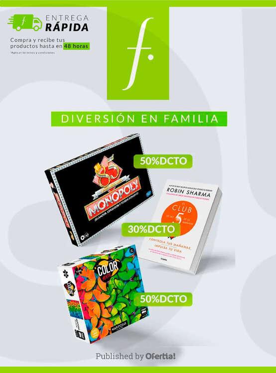 Ofertas de Falabella, Diversión en familia