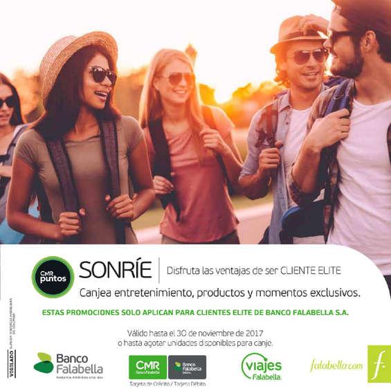 Ofertas de Banco Falabella, Catálogo Cliente Elite - Noviembre 2017