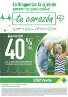 Ofertas de Cruz Verde, 40% En productos Cardivasculares