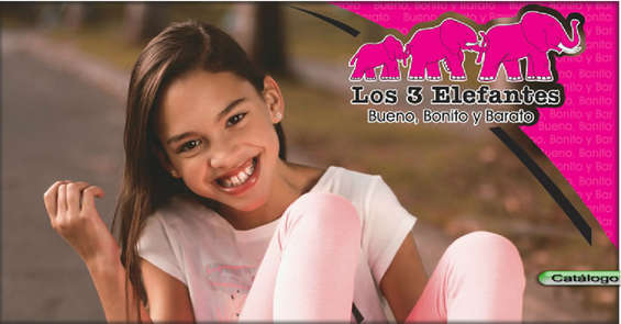 Ofertas de Los Tres Elefantes, Catálogo Bueno, Bonito y Barato