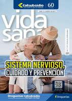 Ofertas de Droguería Colsubsidio, Revista Vida Sana  - Sistema nervioso, cuidado y prevención