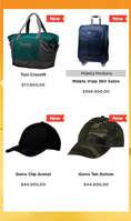 Ofertas de Totto, Productos de viaje