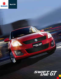 Suzuki Swift Live GT