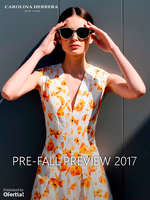 Ofertas de Carolina Herrera, Pre-Fall Preview 2017