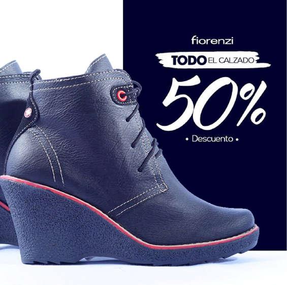 Ofertas de Fiorenzi, Todo el calzado a 50%Descuento