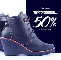 Todo el calzado a 50%Descuento