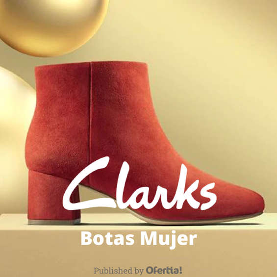 Ofertas de Clarks, Botas Mujer