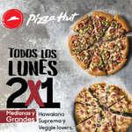 Ofertas de Pizza Hut, Lunes 2x1