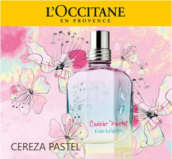 Ofertas de L'occitane, Cereza Pastel