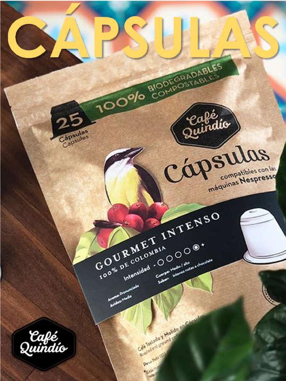 Ofertas de Café Quindío, Cápsulas