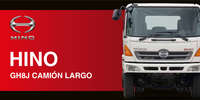Hino - GH8J Camión Largo