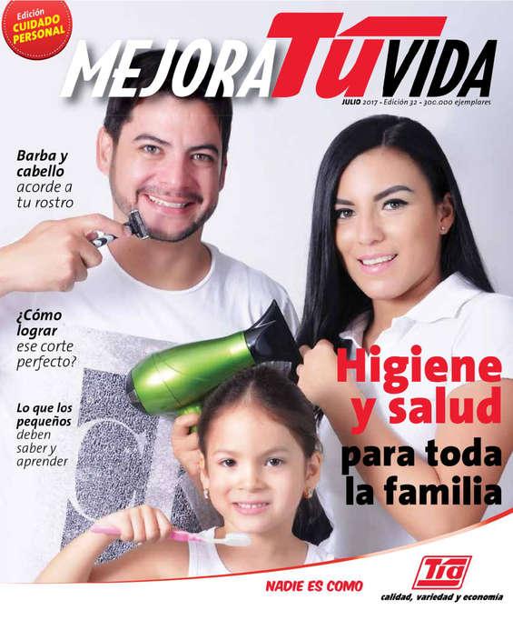 Ofertas de Almacenes Tía, Revista Mejora Tu Vida - Julio 2017