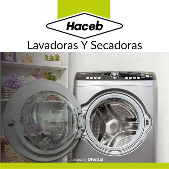 Ofertas de Haceb, Lavadoras Y Secadoras