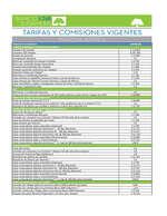 Ofertas de Banco GNB Sudameris, Tarifas GNB Sudameris