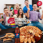 Ofertas de Pizza Hut, Combo futbolero