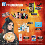 Ofertas de Farmatodo, Happy Halloween