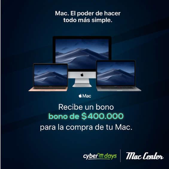 Ofertas de Mac Center, Mac Center